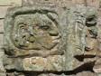 Detail aus der Akropolis - die Mayas hatten anscheinend grosse Nasen