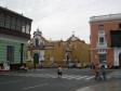 "Aufnahme aus dem ""Plaza de Armas"" in Trujillo"